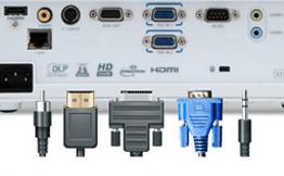 Connecter un vidéoprojecteur