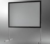 Ecran de projection sur cadre celexon «Mobil Expert» 406 x 305 cm, projection de face