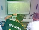 Vidéoprojecteur pour football