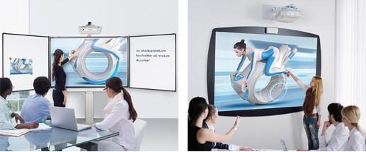 Montage tableau blanc interactif