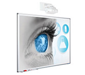 Tableau blanc de projection Smit, Softline Profil 120 x 230 cm