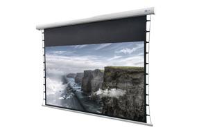 Écran de projection motorisé tensionné DELUXX Cinema Tension 221 x 124cm, 100 - 4k Pro Fibre MWHT