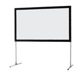 Ecran de projection sur cadre celexon « Mobil Expert » 305 x 172 cm, projection de face
