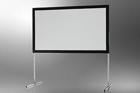 Ecran de projection sur cadre celexon « Mobil Expert » 305 x 190 cm, projection de face