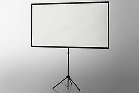 Ecran de projection à pied utra-léger celexon 177 x 100cm