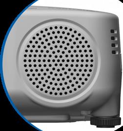 Vidéoprojecteur avec haut-parleur intégré
