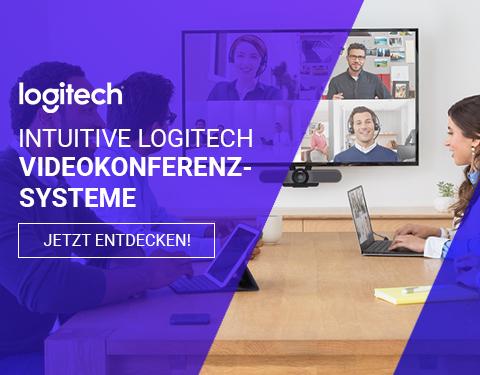 Damit machen Meetings Spaß! Videokonferenz-Lösungen von Logitech !