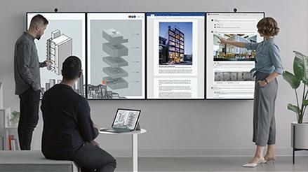 Microsoft Surface Hub2 - Spécialement conçu pour les équipes
