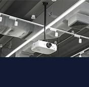 Supports plafond pour vidéoprojecteur