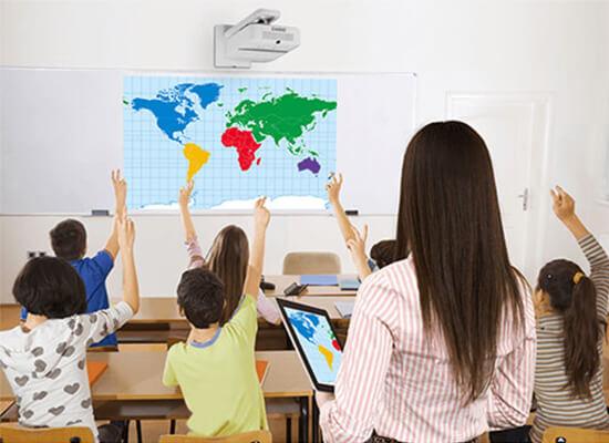vidéoprojecteurs pour établissements d'enseignement