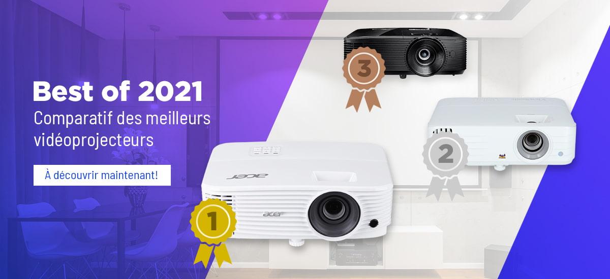 Best of 2020 - Test des meilleurs vidéoprojecteurs