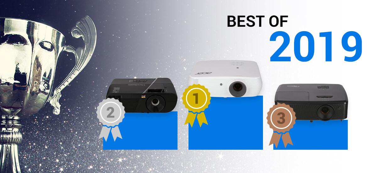 Best of 2019 - Test des meilleurs vidéoprojecteurs